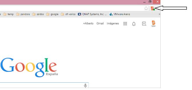 App Neotel para integracion con Google Chrome